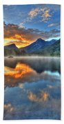 Sunrise Lake Beach Towel