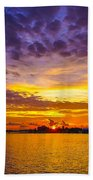 Sunrise, New Orleans Beach Towel