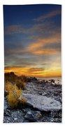 Sunrise On Mackinac Island Beach Towel