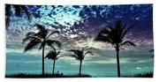 Sunrise On Miami Beach Beach Towel
