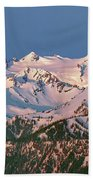 1m4120-sunrise On Mt. Olympus  Beach Towel