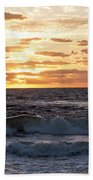 Sunrise On Pompano Beach Pompano Florida Beach Towel