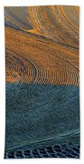 Sunrise On The Groomed Beach  Beach Towel