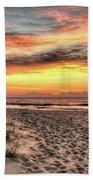 Sunrise Outer Banks Of North Carolina Seascape Beach Towel