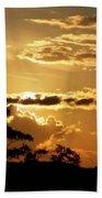 Sunrise Over Fort Salonga4 Beach Towel