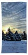 Sunrise Pines Beach Towel