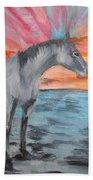 Sunrise Pony Beach Towel