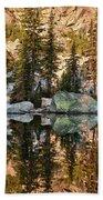 Sunrise Reflection Beach Towel