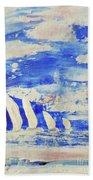 Sunrise Regatta Beach Towel