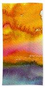 Sunset 02 Beach Towel