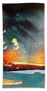 Sunset 08 Beach Towel