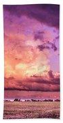 Sunset #10 Beach Towel