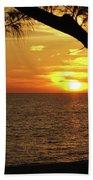 Sunset 2 Beach Towel by Megan Cohen