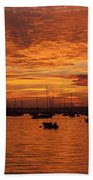 Sunset 4th Of July Beach Towel