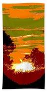 Sunset 6 Beach Towel