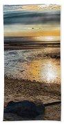 Sunset At Brewster Flats Beach Towel