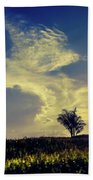 Sunset At Kuru Kuru Beach Towel