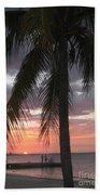 Sunset At Montego Bay Beach Towel