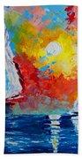 Sunset Bay Beach Towel