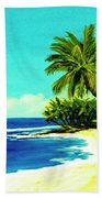 Sunset Beach Art North Shore Of Oahu In Summer #100 Beach Towel