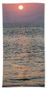 Sunset Beach Cape May New Jersey Beach Towel