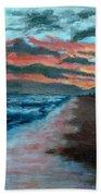 Sunset Beach Beach Towel