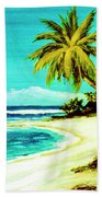 Sunset Beach Hawaiian #113 Beach Towel