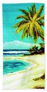 Sunset Beach Hawaiian #113 Beach Sheet