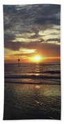 Sunset Beauty At Clearwater Beach Towel