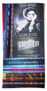 Sunset Boulevard On Broadway Beach Towel