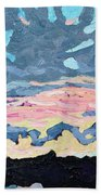 Sunset Cold Front Beach Towel