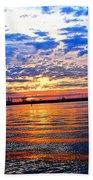 Sunset Colors Beach Towel