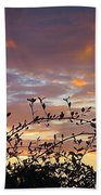Sunset Colors To The West Beach Towel