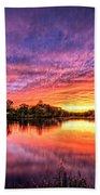 Sunset Culpeper Va Beach Towel
