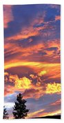 Sunset Extravaganza Beach Towel