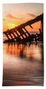 Sunset Glow 0016 Beach Sheet