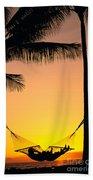 Sunset Hammock Beach Towel