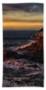 Sunset Hdr Beach Towel