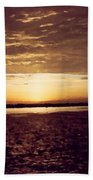 Sunset In Fl Beach Towel