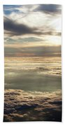 Sunset In Heaven Beach Towel