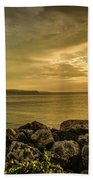 Sunset In Montego Bay Beach Towel