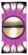 Sunset In Summertime Beach Sheet