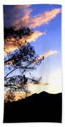 Sunset In The Highlands Beach Towel