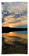 Sunset In The Pinelands  Beach Towel