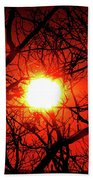 Sunset In Virginia Beach Towel