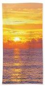 Sunset, Indian Rocks Beach, Florida, Usa Beach Towel