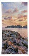 Sunset Malgrats Islands Beach Towel