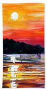 Sunset Melody Beach Towel