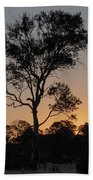 Sunset - Out In The Country Beach Towel