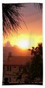 Sunset Over Bcharre, Lebanon Beach Towel